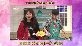 Quang Bảo áp lực tột độ khi phải nấu ăn cùng Liêu Hà Trinh   Khi Chàng Vào Bếp : Tập 13 (2/10/2018)
