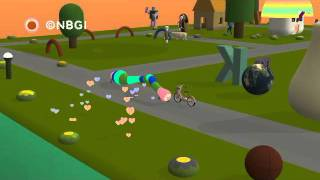 NOBY NOBY BOY Gameplay (PS3) Earth