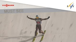 2nd place for Kamil Stoch in Large Hill - Oberstdorf - 4HT - Ski Jumping - 2016/17