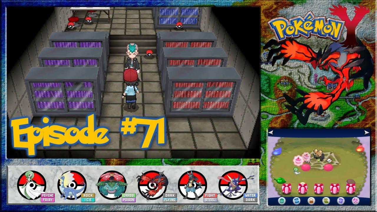 Pokemon Y - Looker Agency, The Labs Secret Floor - Episode 71 on