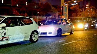 JDM USDM STANCE Osaka night meet by THE CHRONICLES