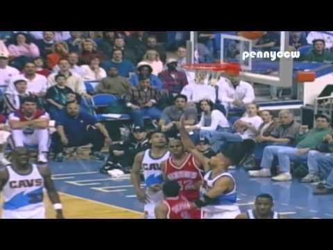 Allen Iverson Rookie 50 points game in HD (1997)