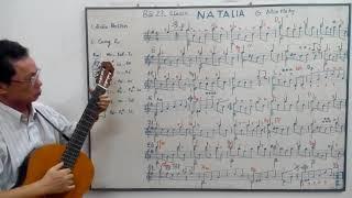 Học guitar căn bản cho người mới bắt - Bài 23: NATALIA - Moustaky - Guitar classic