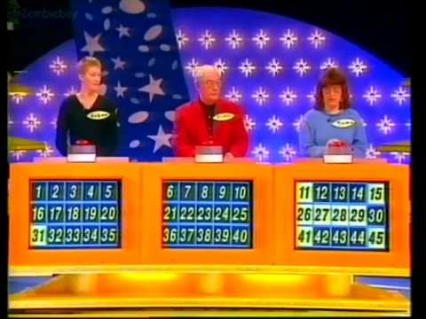 Lucky Numbers Game Show With Shane Richie 16/1/1995 (VHS Capture)