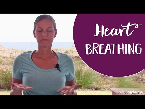 """Heart Breathing - A Simple Technique to Raise Your Vibration with """"Heart Breath"""""""