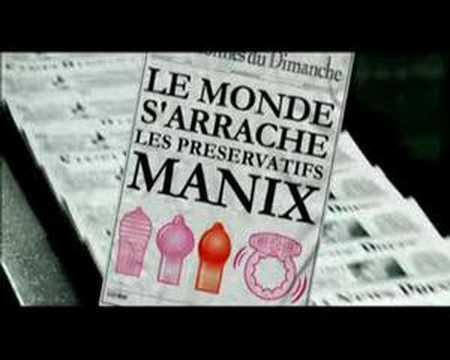 Publicité Manix - La fin du monde