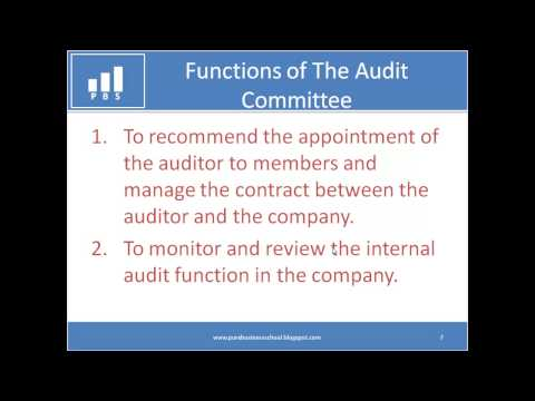 1.5 - The Audit Committee