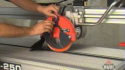 Rubi Diamant DS 250 1500 Electric Tile Saw / Wet Cutter