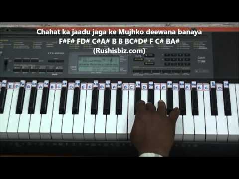 Baazigar O Baazigar - Piano Tutorials | 7013658813 - PDF NOTES/BOOK - WHATS APP US