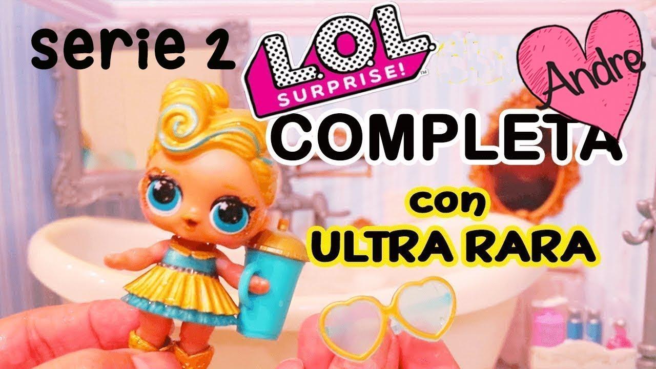 Bebes Lol Surprise Serie 2 Completa Con Ultra Rara Munecas Y