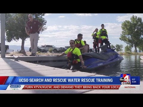 Utah County Sheriff's Office Search And Rescue Water Training (5 P.m.)