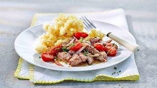 Kartoffelschnee mit Geschnetzeltem von Betty Bossi Thumbnail