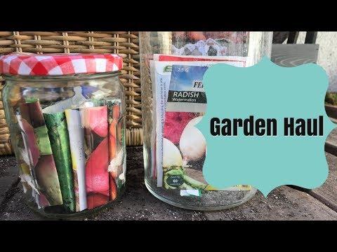 GARDEN HAUL: Summer Seeds!