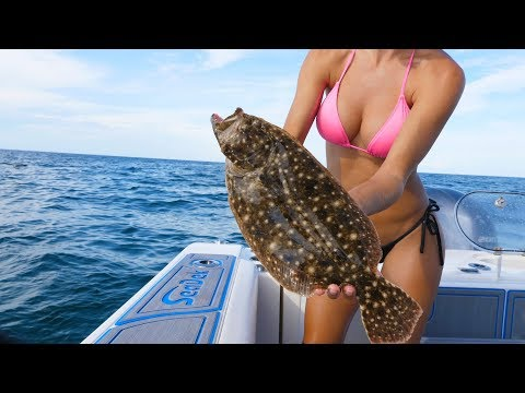 FUN Fishing Trip In The Gulf Of Mexico - 4K