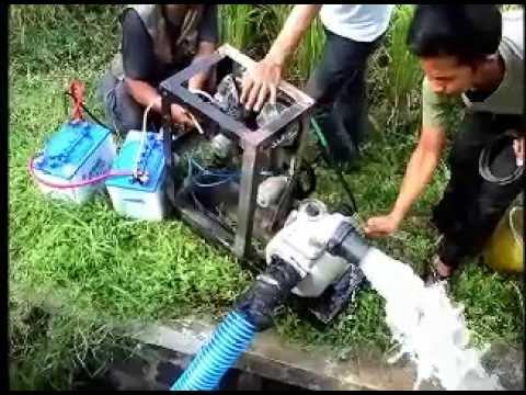 Inovasi Mesin Pompa Air Tanpa BBM dan PLN - YouTube