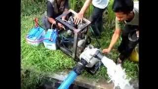 Inovasi Mesin Pompa Air Tanpa BBM dan PLN