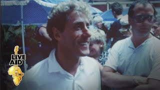 Roger Daltrey - Backstage Interview (Live Aid 1985)