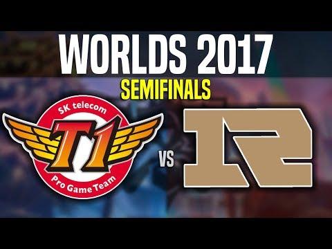 SKT vs RNG - Game 1 - Worlds 2017 Semifinals - SKT T1 vs Royal Never Give Up G1 | Worlds 2017