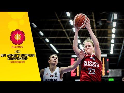 Serbia V Russia - Full Game - FIBA U20 Women's European Championship 2019