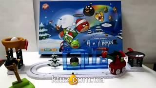 Настольная игра Angry Birds (новогодняя версия)