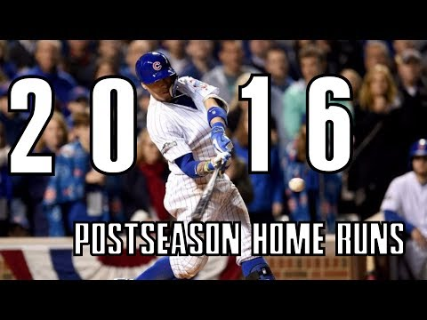 MLB | Every Postseason Home Run of 2016 ᴴᴰ