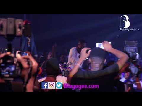 Shatta Wale Unites With Wizkid As Mr Eazi, Tiwa Savage Thrill Fans At Ghana Meet Naija