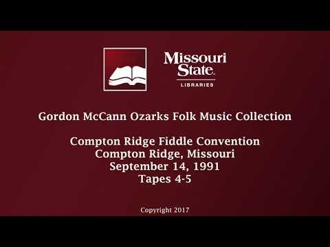 McCann: Compton Ridge Fiddle Convention, September 14, 1991, Tapes 4-5