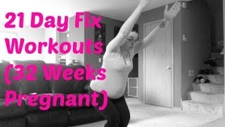 21 day fix workout 32 weeks pregnant