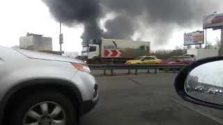 Пожар в Москве сегодня