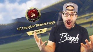 LEGOO TOP 100 FUT CHAMPIONS REWARDS! Fifa 17 Ultimate Team