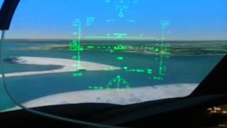 B787 Heads Up Display (HUD)