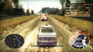【NFSMW】NFS Most Wanted WTF Funny Moments 4 - 恋と恋するユートピア痛車 Ver.