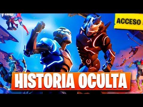 LA HISTORIA OCULTA DE FORTNITE