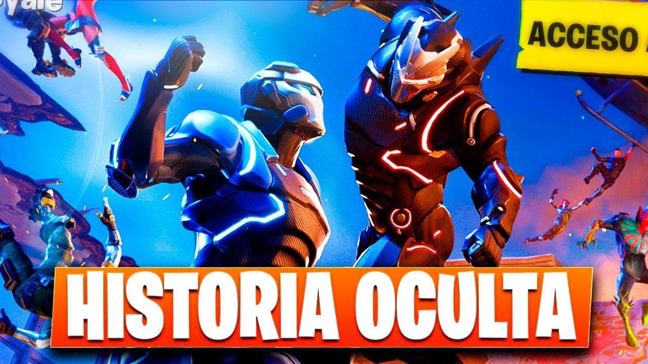 LA HISTORIA OCULTA DE FORTNITE - YouTube