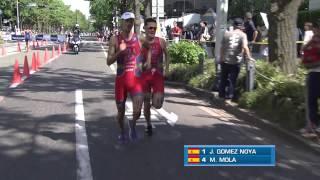 2014 Yokohama ITU World Triathlon Series Highlights - Elite Men