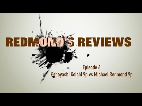 Redmond's Reviews, Episode 6: Kobayashi Koichi 9P v. Michael Redmond 9P