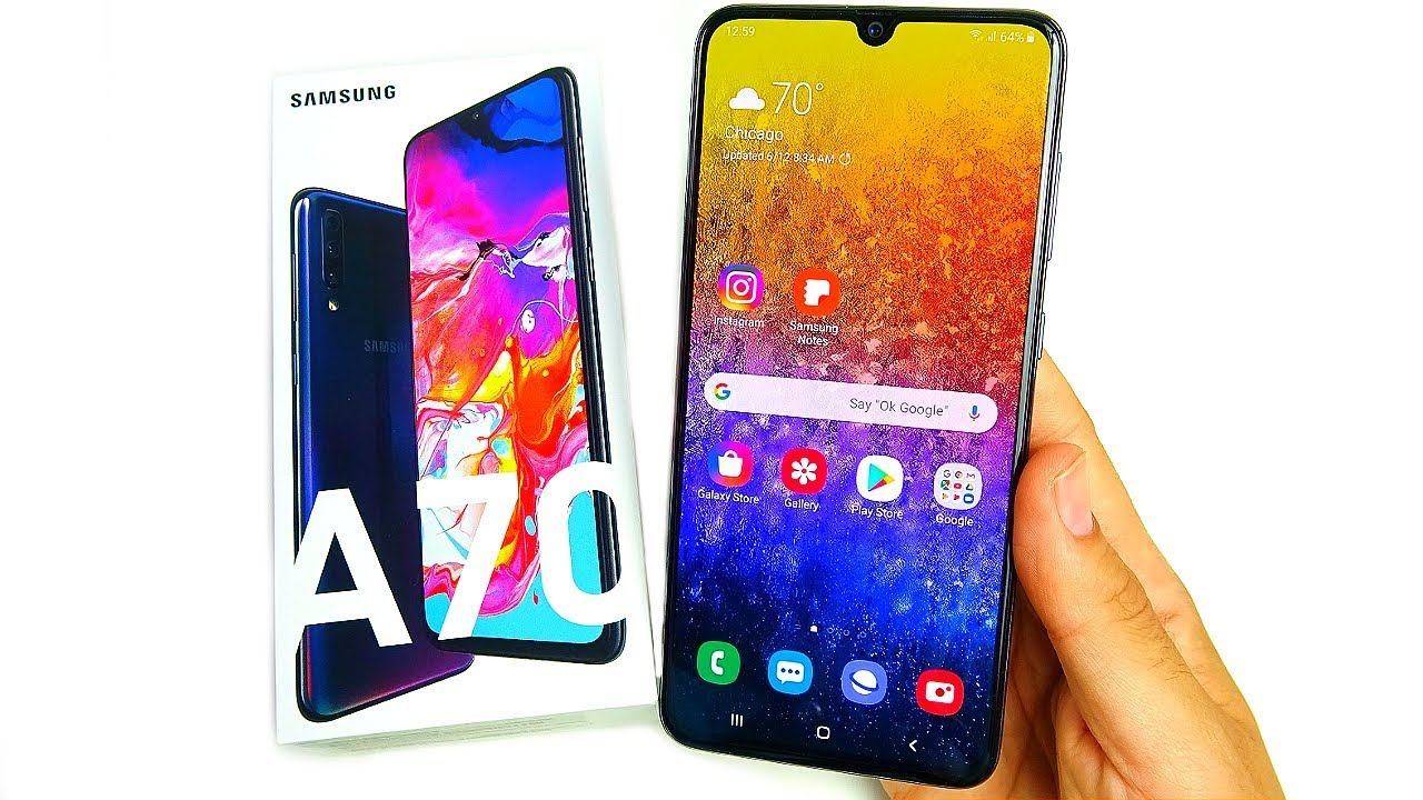 Samsung Galaxy A70 Kokemuksia