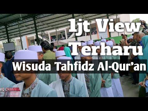 Prosesi Wisuda Khataman Tahfidz Al-Qur'an Ke 8 PPTQ Misbahunnur 2019