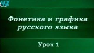 Русский язык. Урок 1. Графика и орфография. Принципы русской орфографии