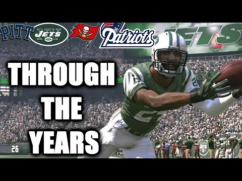 Darrelle Revis Through the Years - NCAA Football 06 - Madden 17