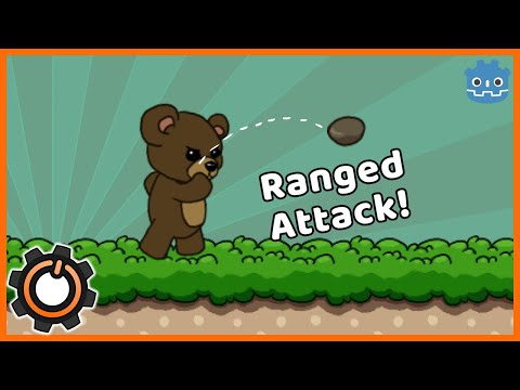 How to Create Ranged Attacks in Godot 3.1