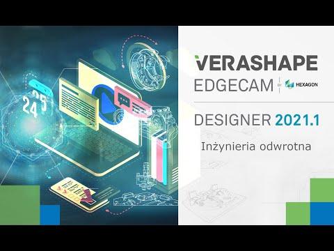 EDGECAM Designer 2021.1 - Inżynieria odwrotna