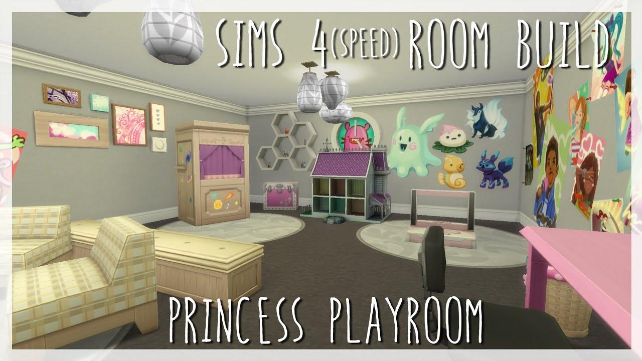 Princess playroom sims 4 room build x kids room stuff for Play room for kids