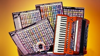 Learn The Accordion - Accordion Lesson Charts