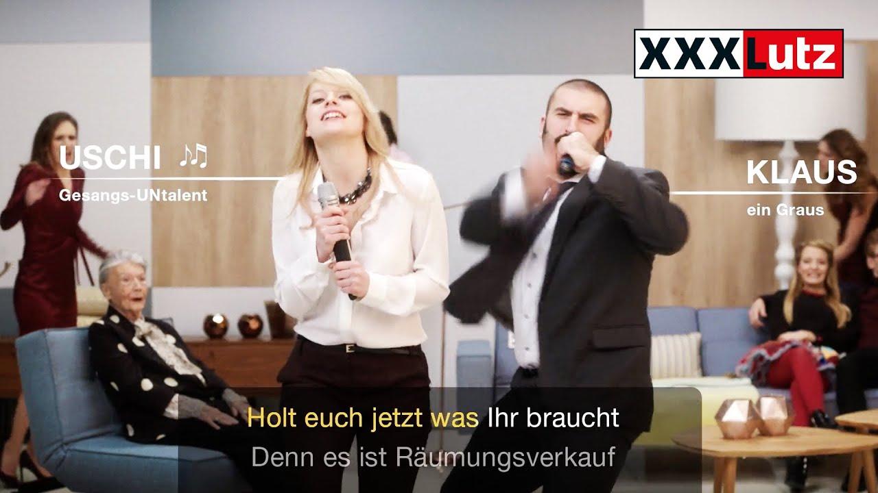 xxxlutz tv spot 2015 karaoke r umungsverkauf youtube. Black Bedroom Furniture Sets. Home Design Ideas