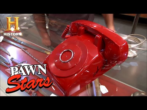 Pawn Stars: Original Bat Phone Signed By Adam West Season 8  History