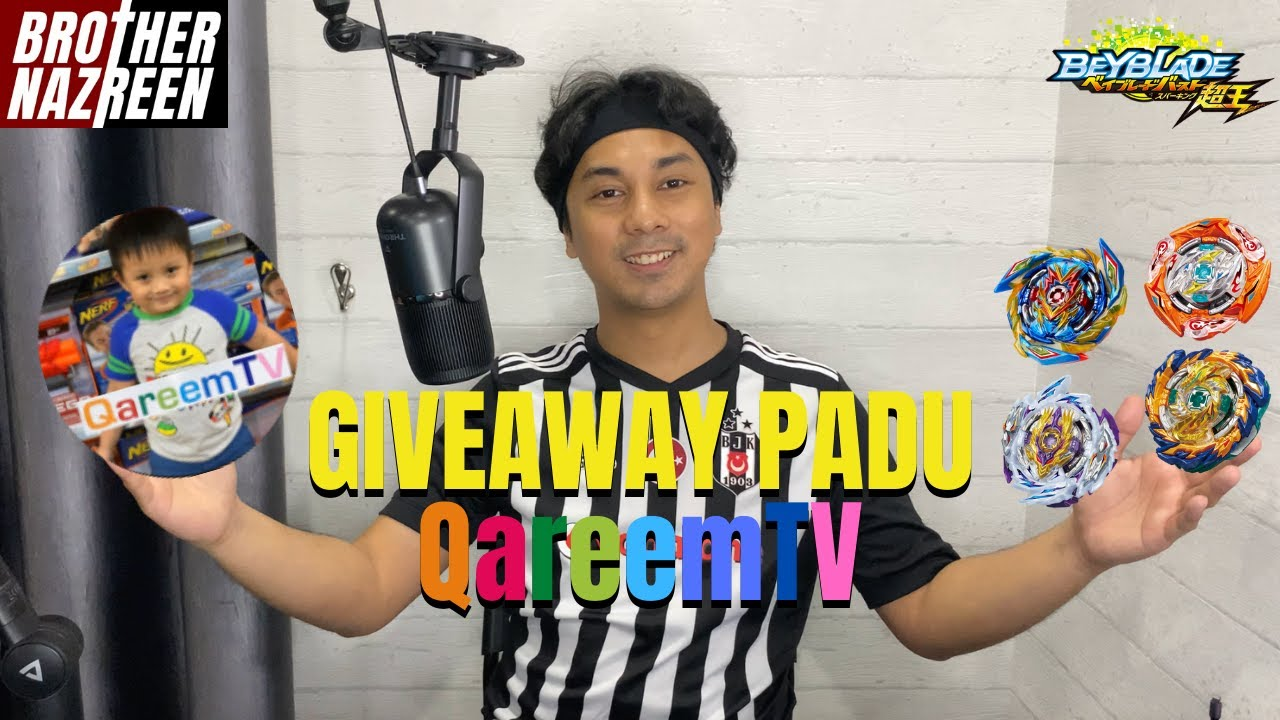 GIVEAWAY PADU QareemTV! | New BeyTuber Introduction #1