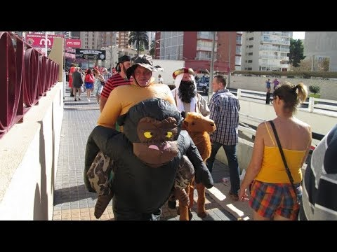Benidorm Fiestas | Fancy Dress Party Daytime Video #2