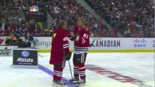 Patrick Kane as Superman 2012 NHL All Star Game