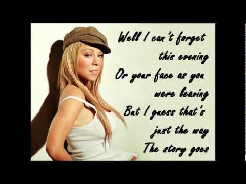 Mariah Carey - WITHOUT YOU + LYRICS